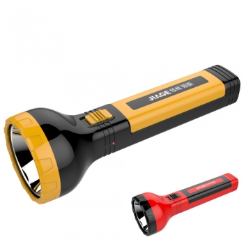 top Plastic led rechargeable torch